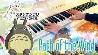 🎵 Path of the Wind (Totoro となりのトトロ) ~ Piano cover played by Moisés Nieto となりのトトロ 検索動画 47