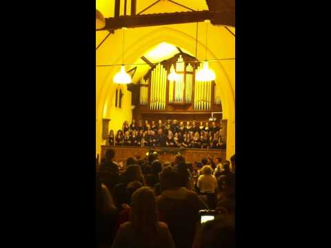 Adele  Rolling in the Deep  Gospel Choir  Nottingham