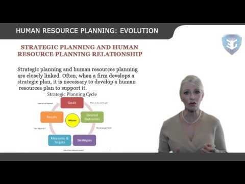 HUMAN RESOURCE PLANNING EVOLUTION new