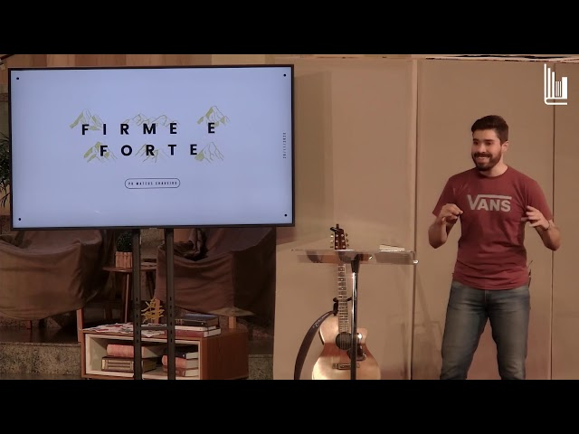CULTO DE JOVENS - FIRME E FORTE