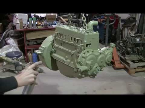 Clark IT-40 Forklift Engine Replacement Part 4 of 9