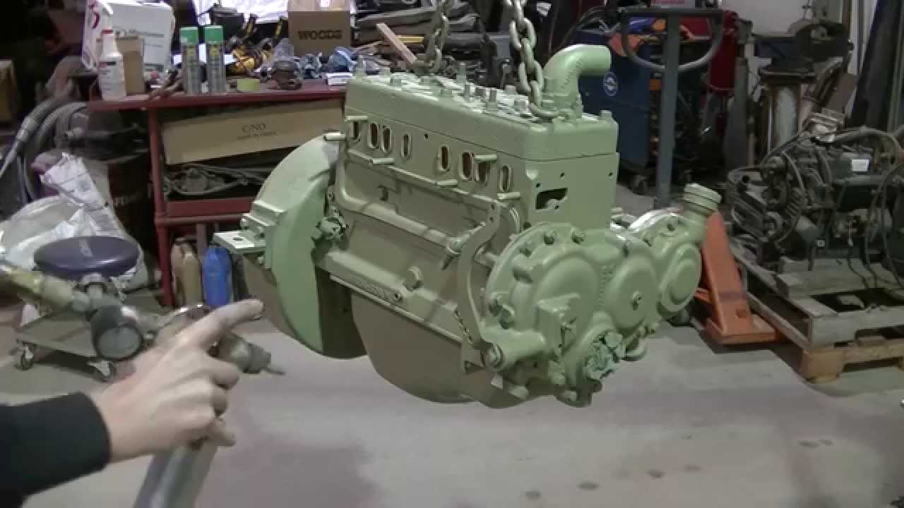 Clark It 40 Forklift Engine Replacement Part 4 Of 9 Youtube