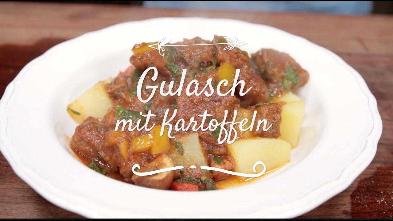 Klassische küche rezepte  Omas Gulasch Rezept I Klassische Küche I FOODBOOM - YouTube