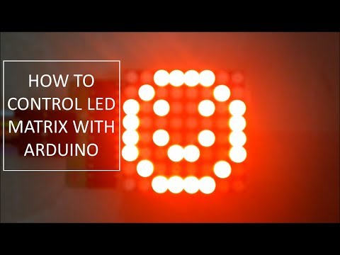 How To Control Led Matrix Using Arduino