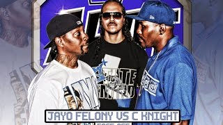 Jayo Felony vs C Knight (from the Dove Shack) FACE-OFF | AHAT Convention