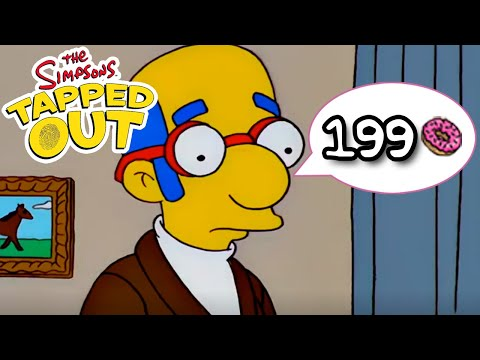 The Simpsons: Tapped Out - Secretary Van Houten - 199 Donuts (Limited Time)