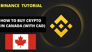 How To Buy Crypto Directly On Binance In Canada (with CAD) | Binance P2P Method