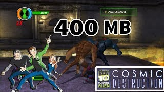 [400 MB] How To Download Ben 10 Ultimate Alien: Cosmic Destruction Just 400 Mb On Android Devices