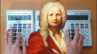 """비발디의 사계를 계산기로 듣는다면? (Vivaldi's """"Spring"""" by 3 calculators)"""