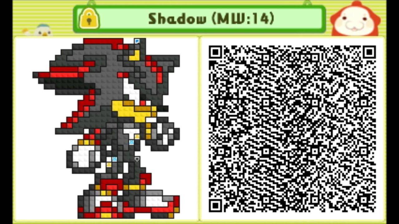 Pushmo Shadow The Hedgehog Custom Level 14 Qr Code Youtube