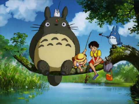 Cat Bus song from the movie TOTORO