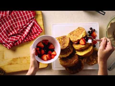 Christmas Brunch: Stuffed French Toast Recipe - Pure Brings Us Home (McCormick Commercial)