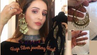 *HUGE* Silver Jewellery + Clothing Haul❤️Sarojini Nagar& Janpath(part1)