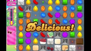Candy Crush Saga Level 744, 3*** No Boosters, 18 Moves Left