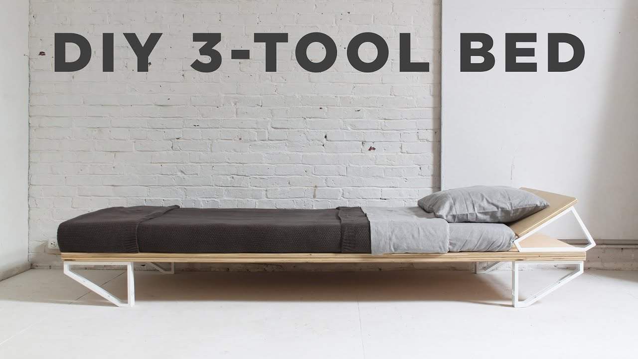 DIY Bed | 3 Tool Series   YouTube