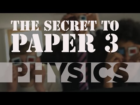 We Cracked The Exam Board's Secret Code For A Level Physics Paper 3!