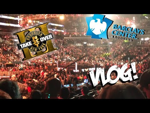 NXT Takeover Brooklyn III Vlog!