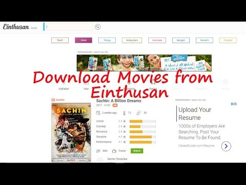 2 Ways To Download Movies From Einthusan (No Installation Required)