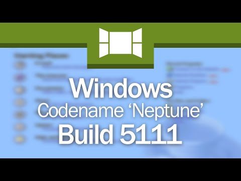 Windows Codename 'Neptune':