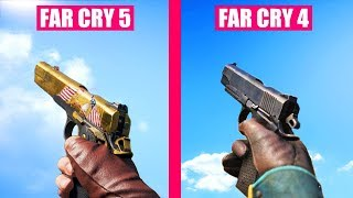Far Cry 5 Guns Reload Animations vs Far Cry 4