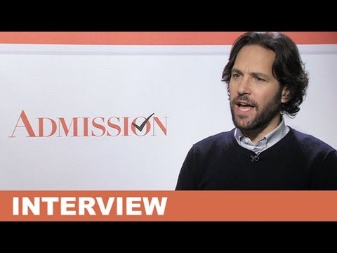 Paul Rudd - Admission 2013 Interview : Beyond The Trailer
