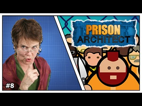 """SCHOOL IS STOM!"" - Prison Architect - Aflevering 8"