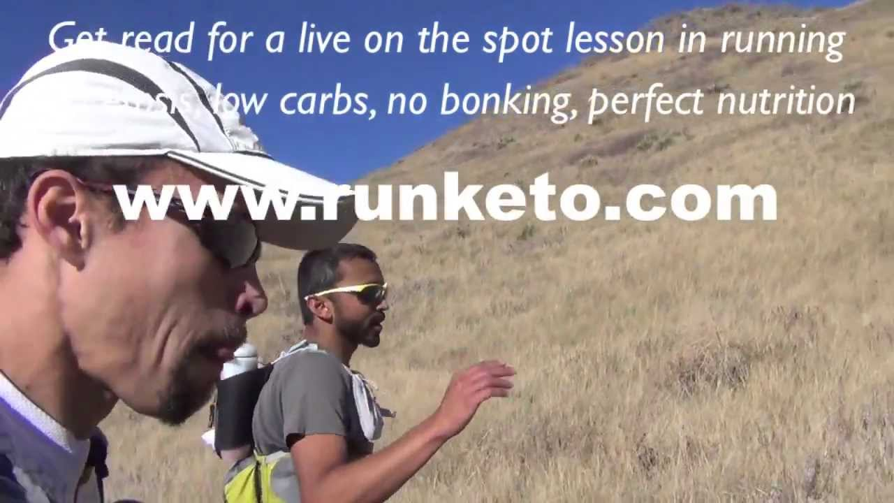 Run Keto interview during 30 mile ultramarathon. Ketosis, Ketogenic diet, Nutrition for athletes ...