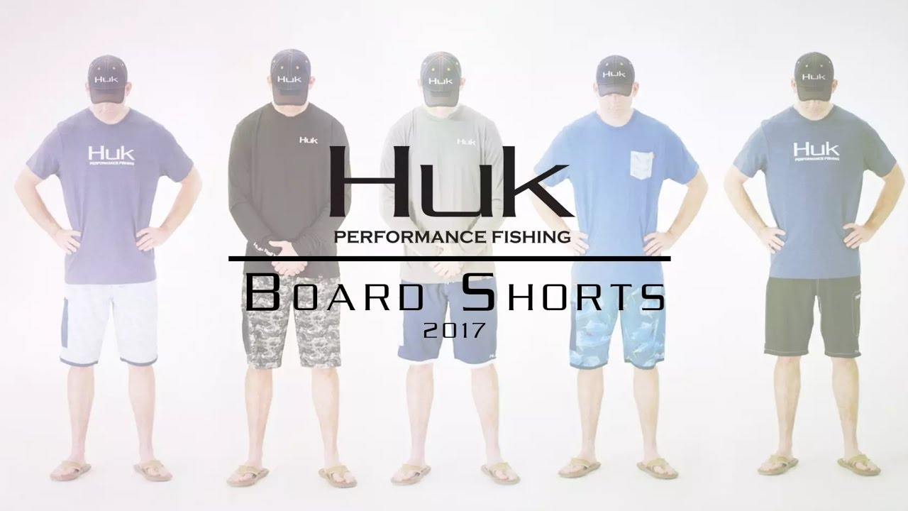 Huk Board Shorts 2017 Youtube