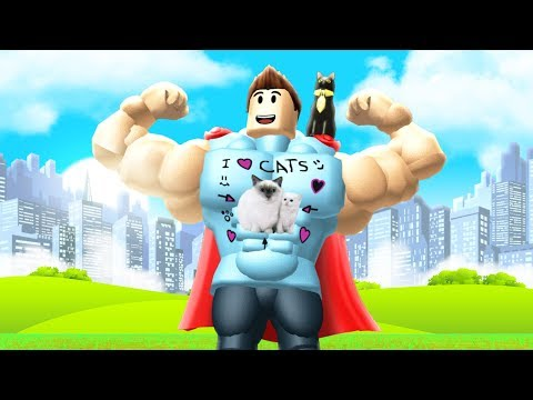 ROBLOX SUPER POWER TRAINING SIMULATOR