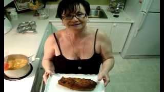 Stuffed Chipotle Tenderloin With Acini De Pepe Pasta- Toltott Vesepecsenye Piritott Tarhonyaval