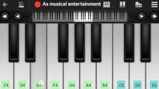 (Kaun Tujhe Yun Pyar Karega )_palak_perfect piano_Amit shukla_As musical entertainment