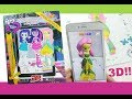 My little pony Equestria Girls 3D Activity Book MLP coloring book for kids