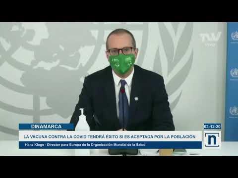 Director europe de la OMS asegura que éxito de la vacuna dependerá de la población
