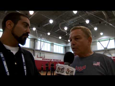 Mike Fratello Interview @ USA Training Camp