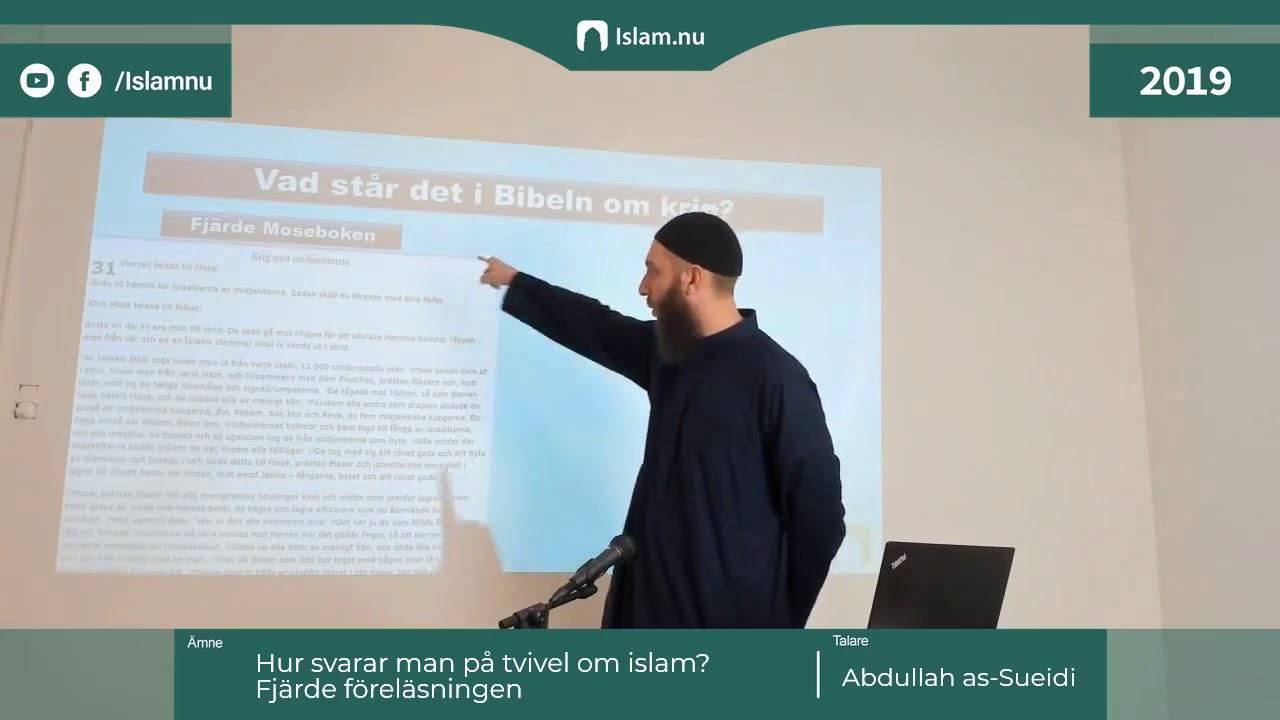 Hur man besvarar tvivel om Islam | del 4 av 4 | Shaykh Abdullah as-Sueidi