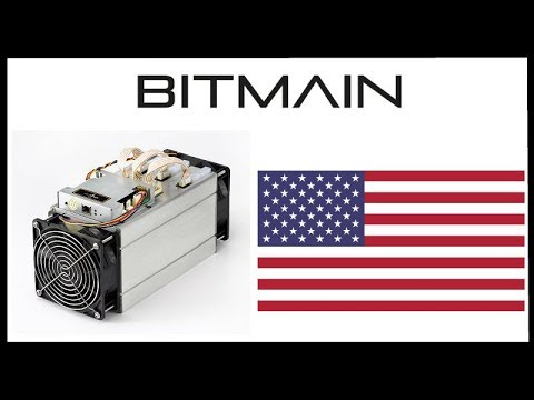 Chinese Crypto Mining Giant Bitmain Developing Facilities In US - Bullish News!
