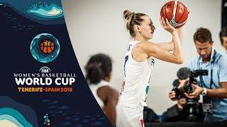 Marine Johannes - 19Pts vs Korea  - FIBA Basketball Women's World Cup 2018