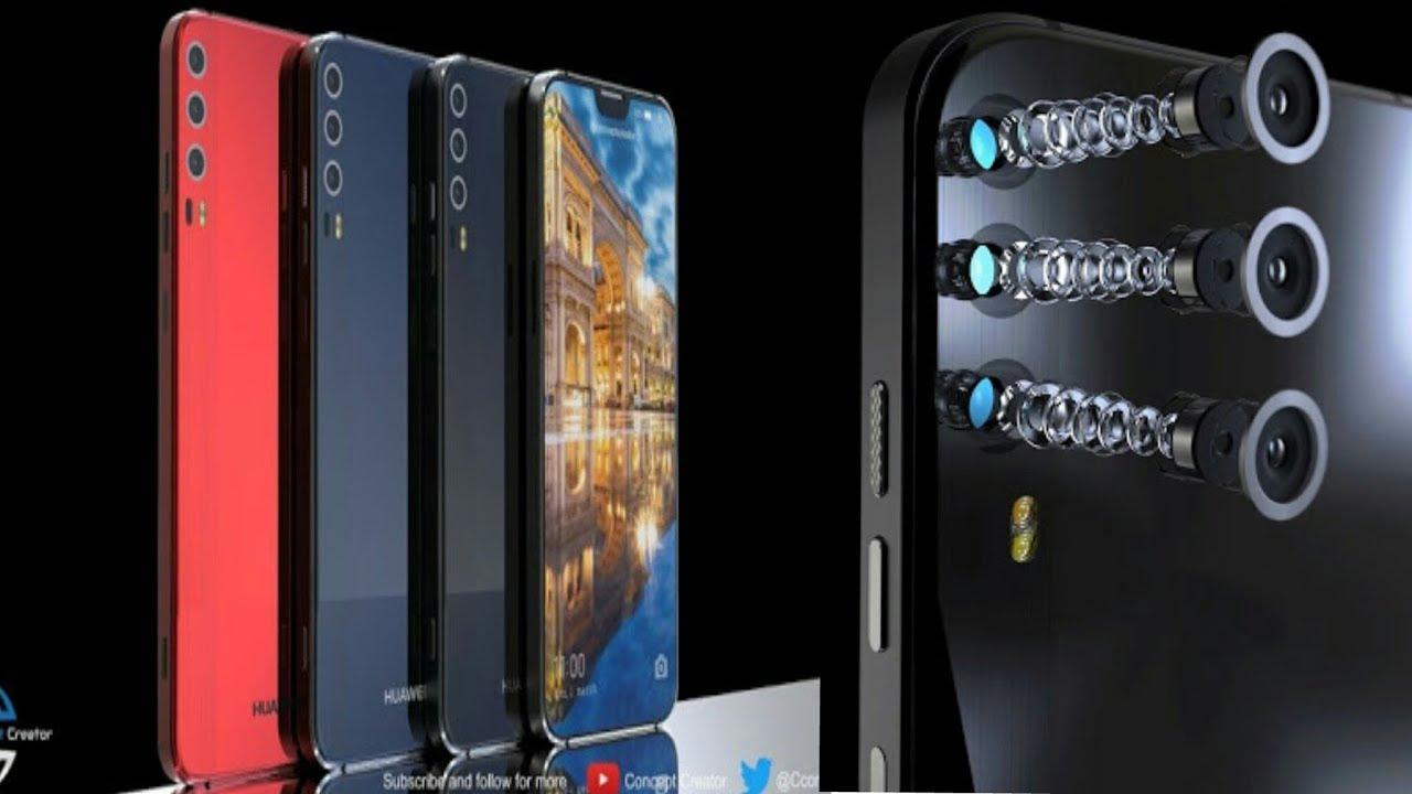 Huawei P11 X, triple camera, notch (2018) - YouTube
