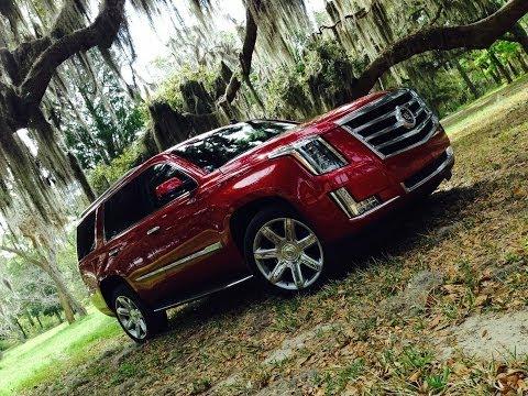 2015 Cadillac Escalade First Drive