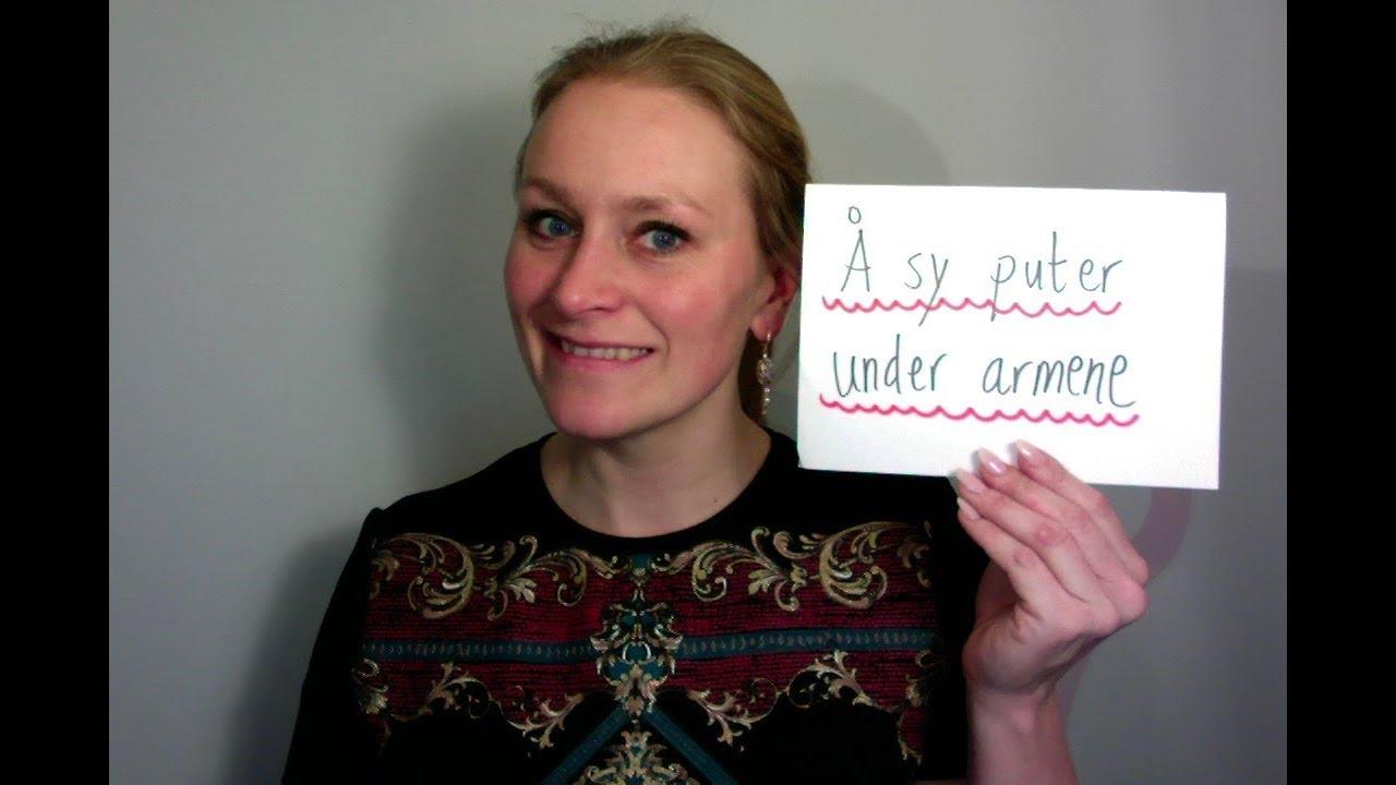 Video 512 Idiom nummer 76 Å sy puter under armene