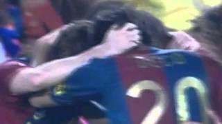 Gol Messi vs Getafe 18/04/2007