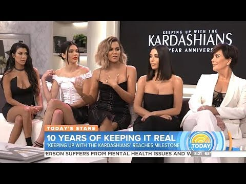 Keeping Up With The Kardashians 10th Anniversary (Today Show)