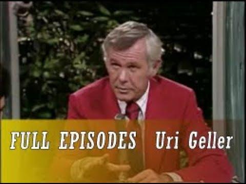 Johnny Carson 1973 08 01 Uri Geller
