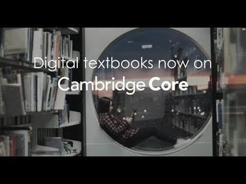 Textbooks on Cambridge Core