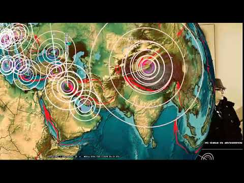 1/31/2018 -- Earthquakes progress across Pacific -- West Coast USA on watch -- Be prepared