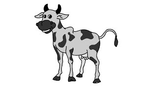 how to draw calf