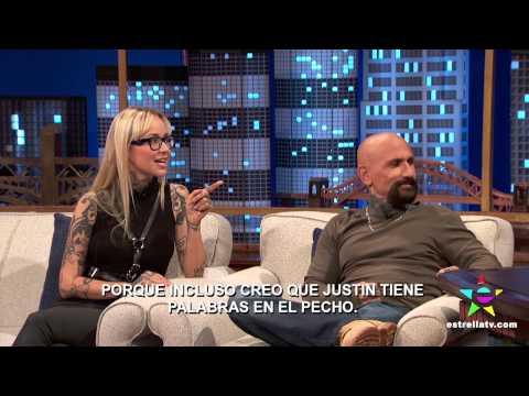 """""""AHÍ ES TATTOO FAMOSO"""" CON ROBERT LASARDO Y SARA FABEL - NOCHES CON PLATANITO"""