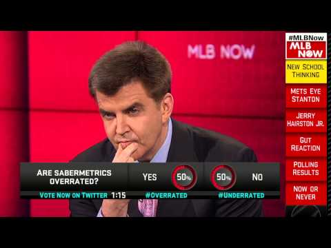 Hawk Talks Sabermetrics On MLB Now