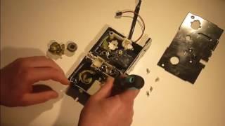 Электронный замок IRON LOGIC Z-8 EHT смена положения ригеля