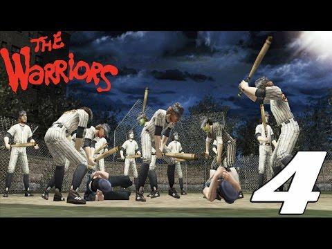 The Warriors Game PS4 Gameplay Walkthrough Ep. 4 - BASEBALL FURIES VS. WARRIORS FULL FIGHT MOVIE